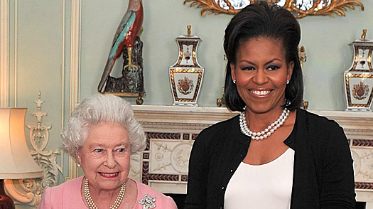 The Queen and Mrs. Obama: Did the First Lady Break Protocol?