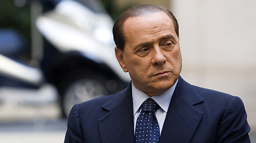 Berlusconi and the Girl: No Spice, Thank You