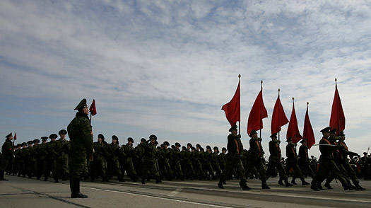 Russia Moves to Ban Criticism of WWII Victory