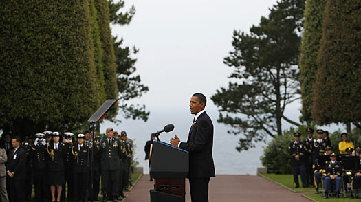 D-Day Tributes and Reflection Conclude Obamas Tour