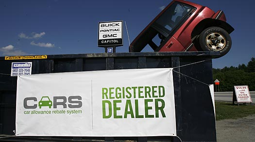 Is the Cash for Clunkers Program Working Too Well?