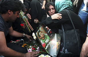 Memorial Crackdown Helps Sustain Irans Protest Movement