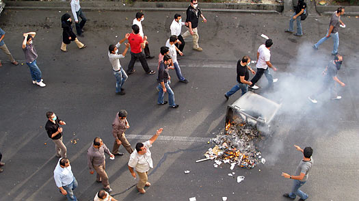 Iran: New Opposition Demonstrations Bring New Violence
