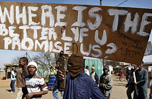 The Outrage of South Africas Poor Threatens Their President, Jacob Zuma