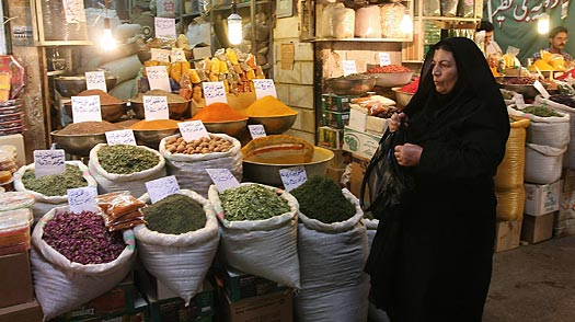 Does the Iranian Bazaar Back Ahmadinejad or Mousavi?