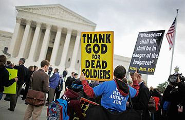 Image result for westboro baptist church matthew snyder