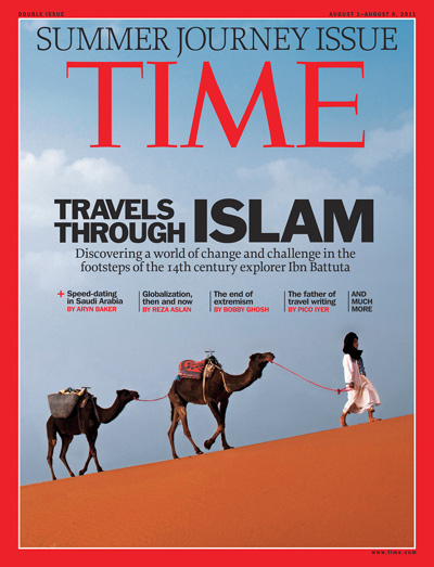 TIME (Summer Journey Issue), August 8, 2011 issue