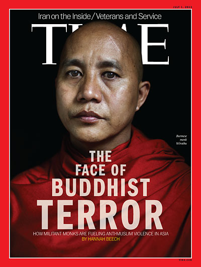 Time Magazine sees Buddhism as more radical than Islam