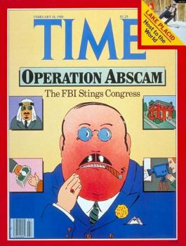 TIME Magazine Cover: Operation Abscam - Feb. 18, 1980 - Law ...