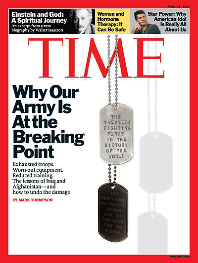 Photo of military dog tags that say