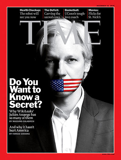 Image result for wikileaks magazine cover