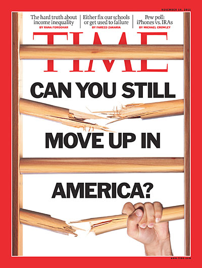 Time Magazine cover for November 4, 2011