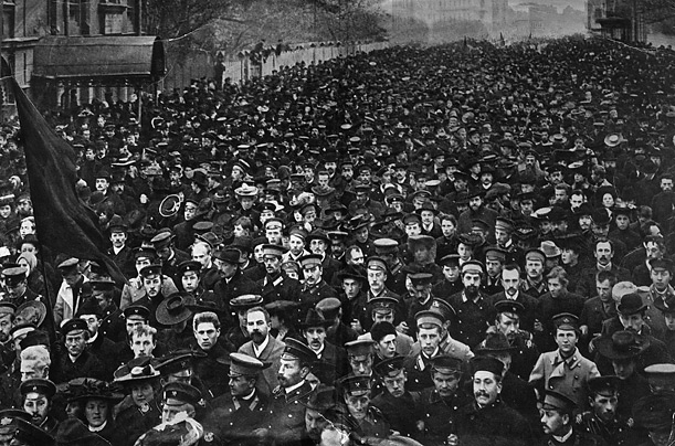 The October Revolution 1917