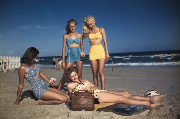 History of Bikini - the 1940s via www.time.com