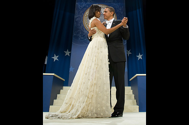 Inaugural Ball Michelle Obama's Jason Wu Dress</p><br /><br /><br /><br /><br /><br /><br /><br /><br /><br /> <p>A young designer First Lady to design her gown for the inauguration night festivities