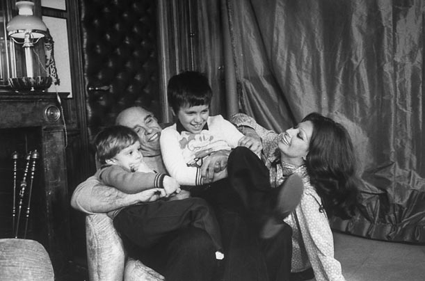 Image result for sophia loren and her children