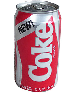 New Coke - Top 10 Bad Beverage Ideas - TIME