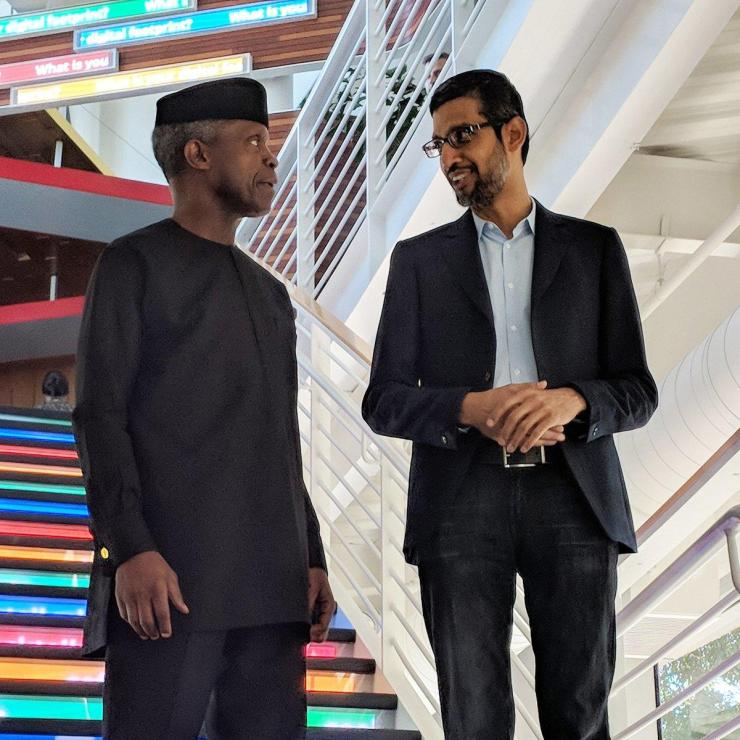 Sundar Pichai with Gambia President revealed! 10 surprising things you never know about the ceo of google REVEALED! 10 SURPRISING THINGS YOU NEVER KNOW ABOUT THE CEO OF GOOGLE Dht9r4aVQAAmXdd  Sundar  1562913575  rend 1 1