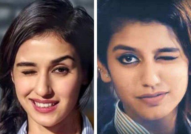 Disha Patani and Priya Prakash Varrier