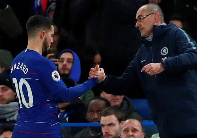 Image result for Hazard can leave Chelsea if he wants – Sarri