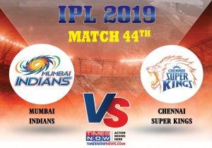 LIVE IPL Score | CSK vs MI, IPL 2019: Rohit Sharma, Evin Lewis look to take MI ahead; MI 51/1 after 7 overs
