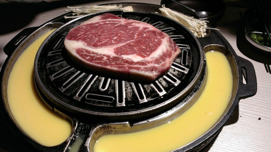 [台北]黃OPPA烤肉-韓系花美男享受OPPA烤肉服務–踢小米食記