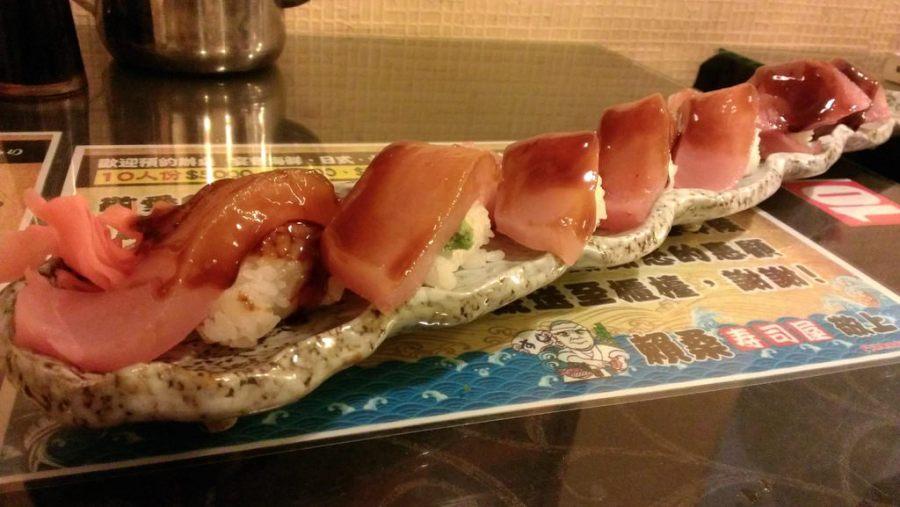 [花蓮美食]賴桑壽司屋–超霸氣厚切生魚片握壽司–踢小米食記