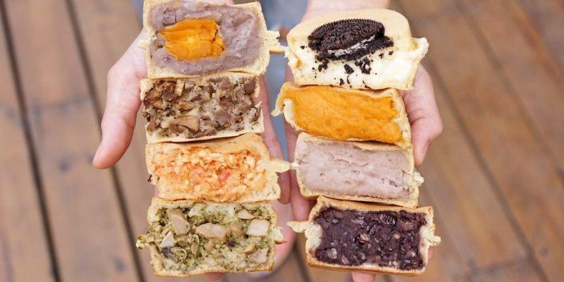 新竹紅豆餅 青畑九號豆製所在新竹市也可以買到啦!爆料內餡車輪餅有榴槤飄香也有北海道牛奶及南國紅豆口味(價格營業時間地址外送電話)--踢小米食記