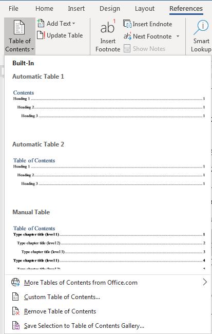 [HƯỚNG DẪN] Cách làm mục lục tự động dễ dàng trong Word - Ảnh 5