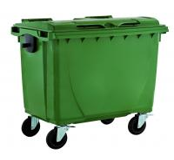 660liter plastic outdoor garbage bin waste bin trash bin garbage