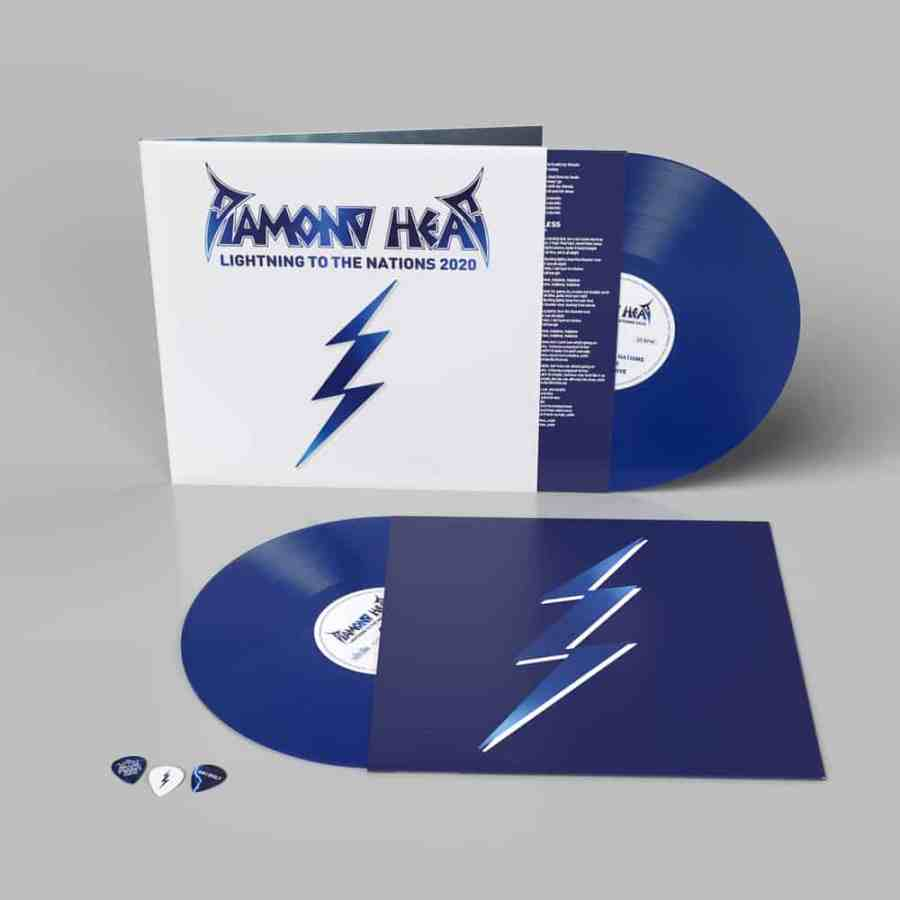 Diamond Head - Lightning To The Nations 2020 Blue - TM Stores