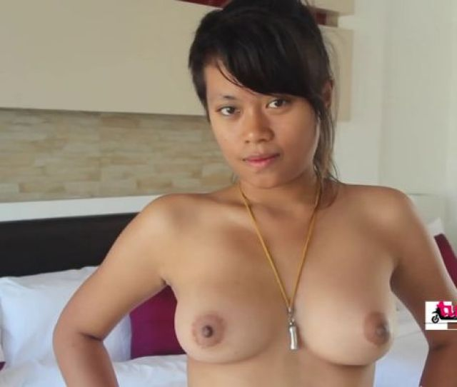Soft Asian Teen Bends Over For Tourist