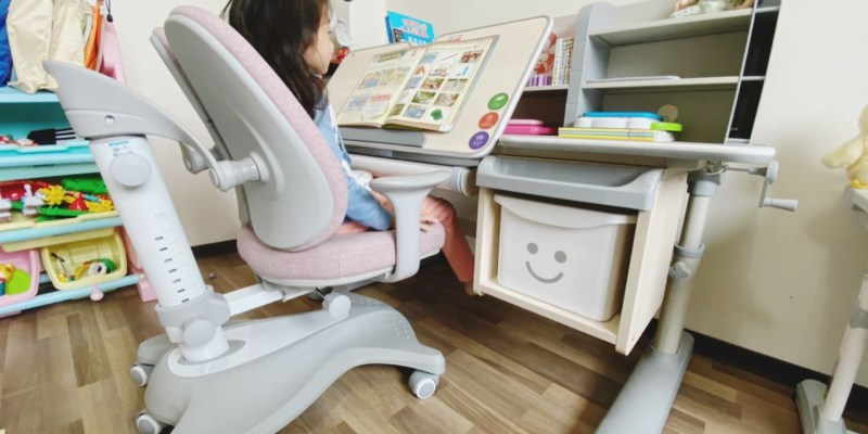 【兒童學習書桌】生活誠品系列ME752+AU865桌椅組/可升降的成長人體工學書桌椅  兒童成長學習書桌首選