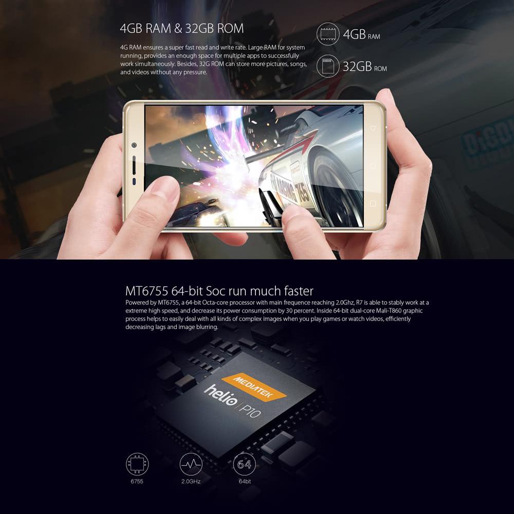 [Deal Alert] Blackview R7 com 4GB de RAM e processador octa core em promoção 1