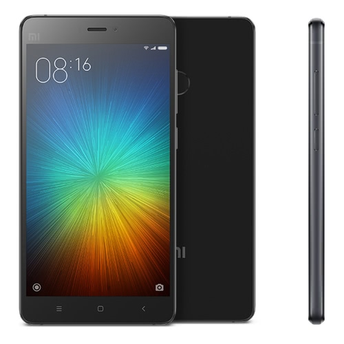 "Original Xiaomi Mi4S 5.0"" LED Backlight 1920*1080Pixel 4G FDD LTE Cellphone Snapdragon808 Hexa Core 3GB RAM 64GB ROM 13.0MP 3260mAh Battery Smartphone Fingerprint Type-C OTG 2.0 Fast Charging"
