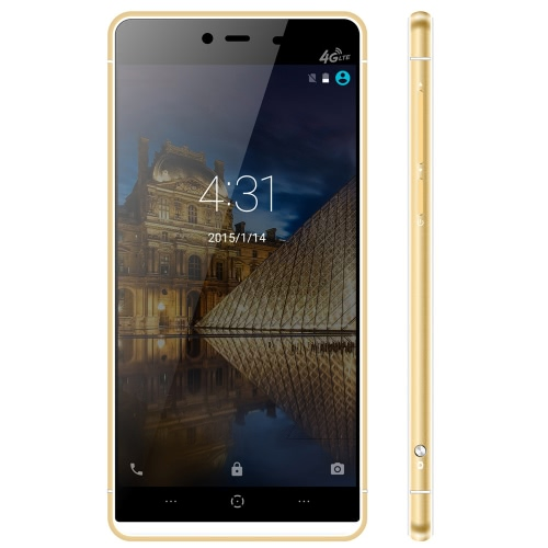 Original Kingzone K2 5.0inch 2.5D Touch ID 4G Smartphone Android 5.1 MT6753 64Bit Octa Core 1.3GHz 3GB RAM 16GB ROM 8.0MP 13.0MP Cameras