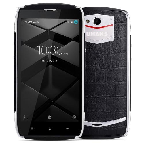 UHANS U200 Cellphone 5.0inch Android 5.1 4G FDD-LTE 64bit MTK6735 Quad Core 2GB+16GB 13.0MP 3500mAh Zinc Alloy Frame Miracast OTG Smart Wake Hotknot Smartphone