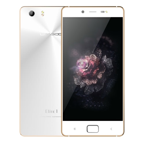 "LEAGOO Elite 1 Smartphone 4G Android 5.1 LEAGOO OS 1.1 OS Octa Core MTK6753 64bits 5.0"" IPS Screen 1.3GHz 3GB RAM 32GB ROM 13MP 16MP Dual Cameras FingerPrint"