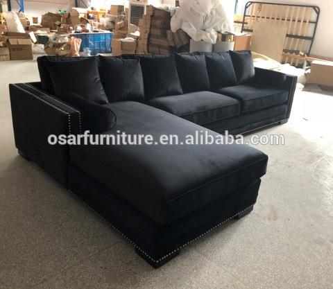 accent living room furniture black