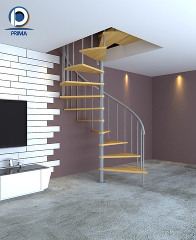 Spiral Staircase Decorative Wood Steps Stair Design Wholesale | Spiral Staircase Wooden Steps | Tiny House | Wrought Iron | Rustic | Creative | 2 Story