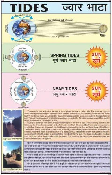 Spring Tide And Neap Tide Diagrams