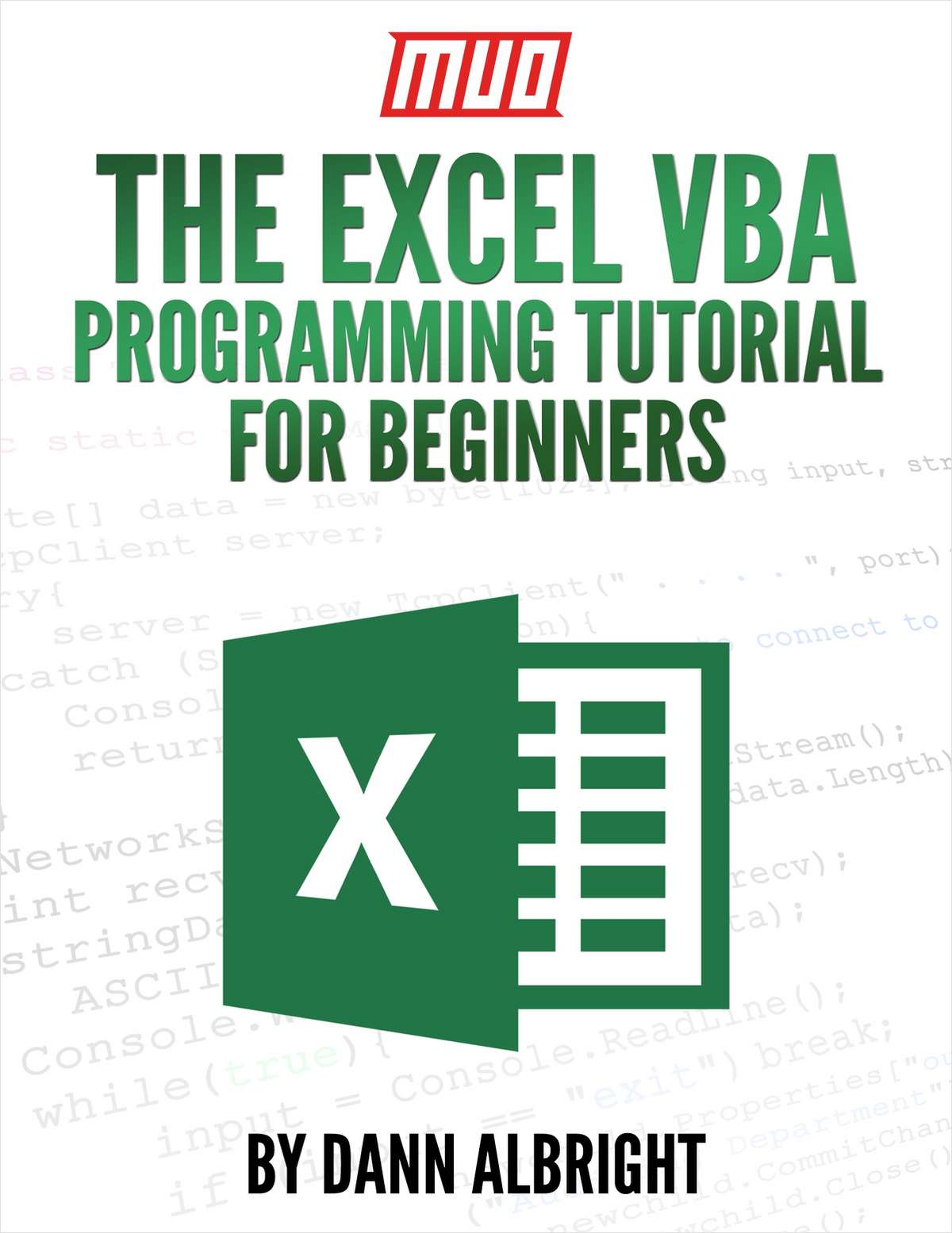 The Excel Vba Programming Tutorial For Beginners Free Eguide