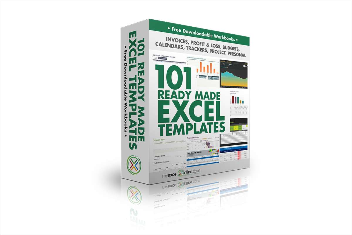 101 Ready Made Excel Templates