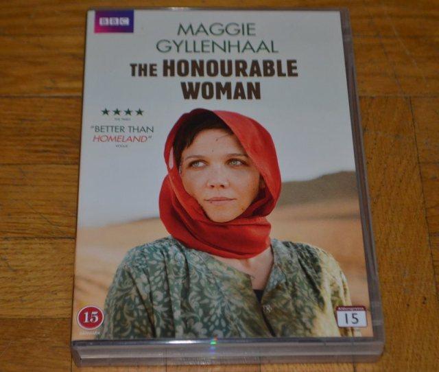 The Honourable Woman Hela Serien Maggie Gyllenhaal 3 Disc Dvd