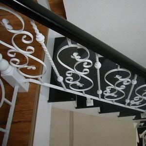 Decoration Indoor Wrought Iron Stair Design Decoration Indoor   Wrought Iron Handrail Designs   Staircase   Iron Pipe   Cast Iron Railing   Garden   Geometric Railing