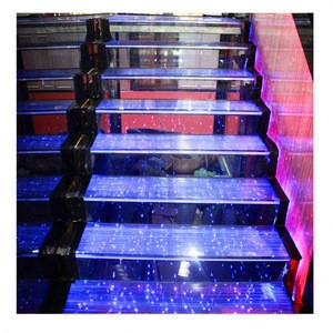 Kaho Modern Special Tempered Led Light Glass Stair Price Kaho | Glass For Stairs Price | Laminated Glass | Stairwell | Glazed | Outdoor | Toughened