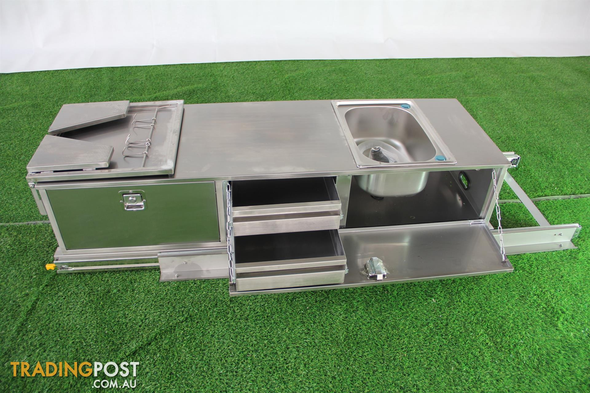 Stainless Steel Camper 2