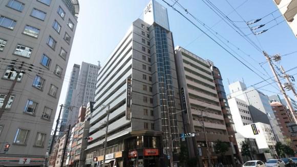 アパホテル<大阪谷町>/外観