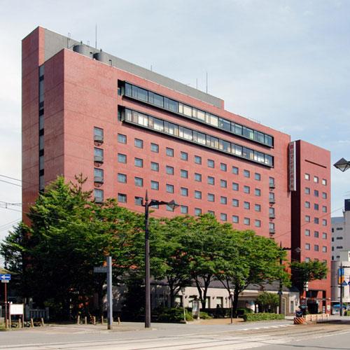富山マンテンホテル/外観