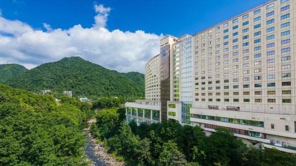 定山渓温泉 定山渓ビューホテル/外観